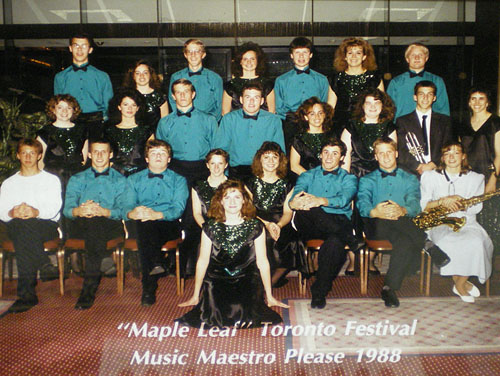 Waseca High School Choir, 1988