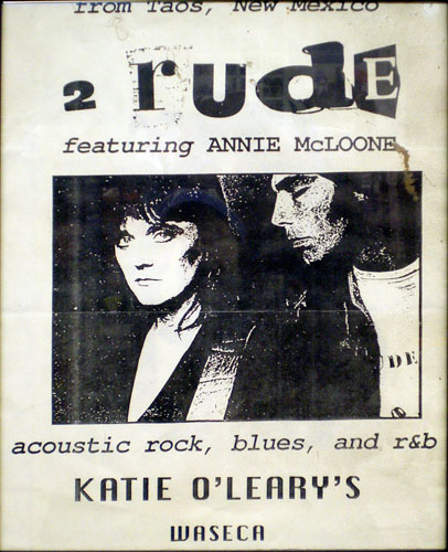 2 Rude Band with Annie McLoone and Tom Moncrieff