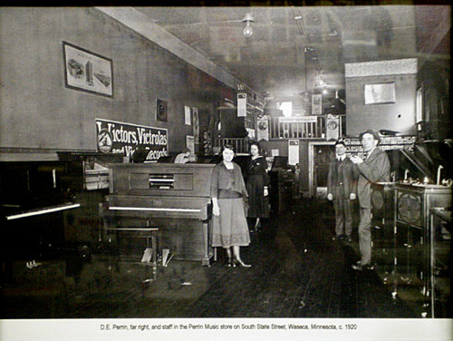 Piano sales in the early days