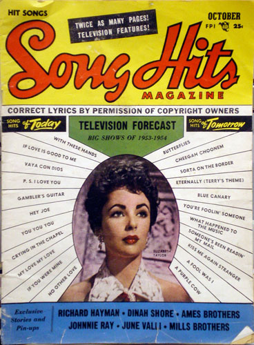 50's Sheet Music Magazine